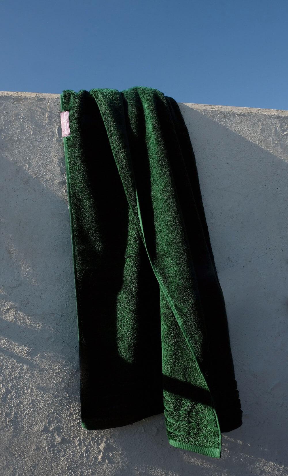 Forest Green Towel set