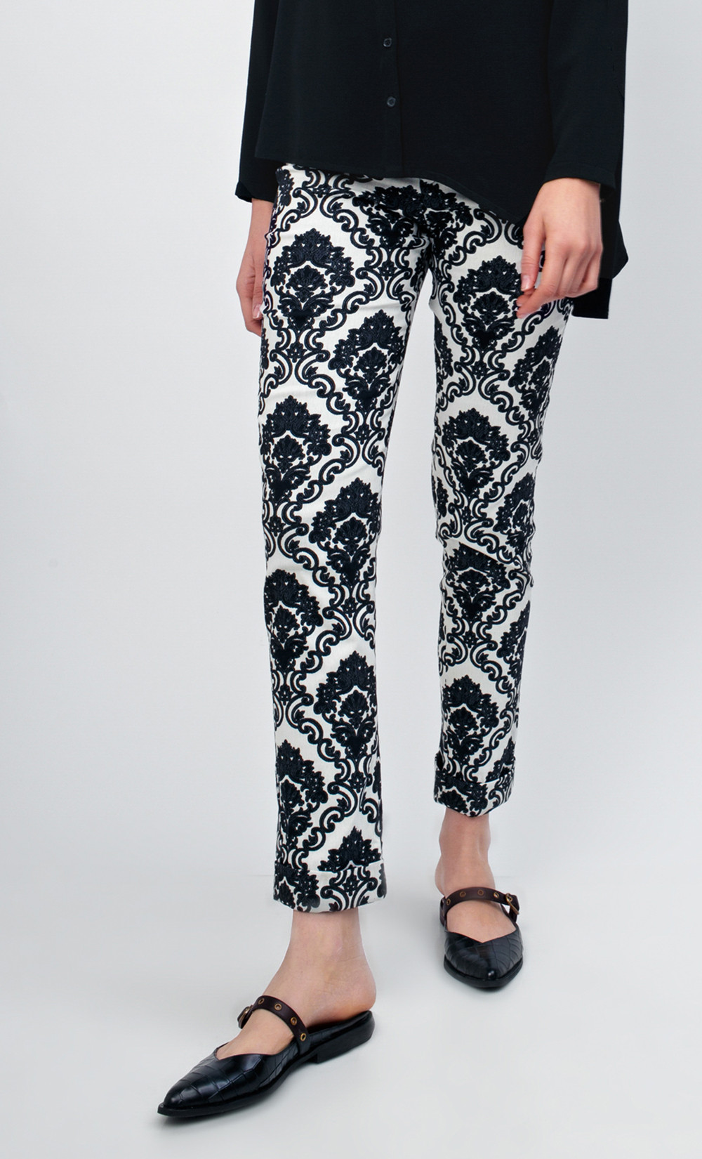Tirex Brocade Trousers