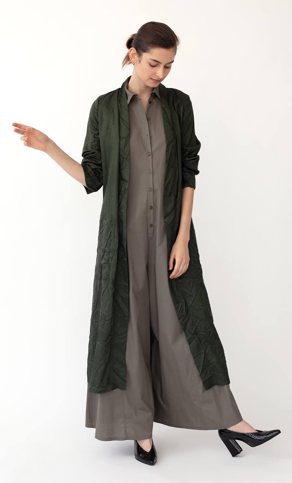 Olive Green Kimono