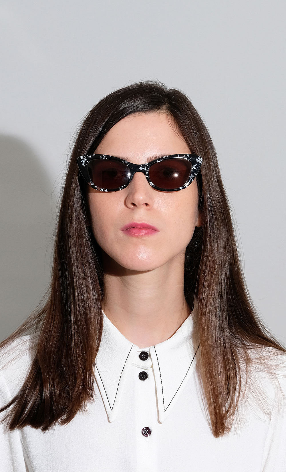 Dorin's Cat-Eye Sunglasses