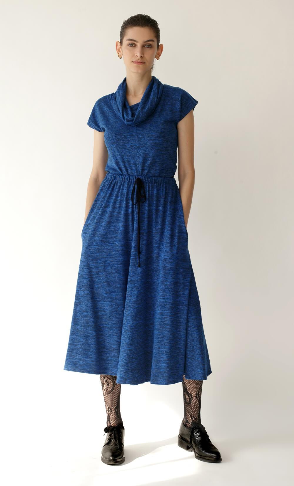 Blue Alpha Skirt