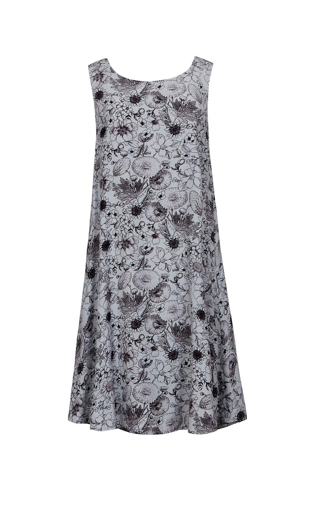 Story Print Dress