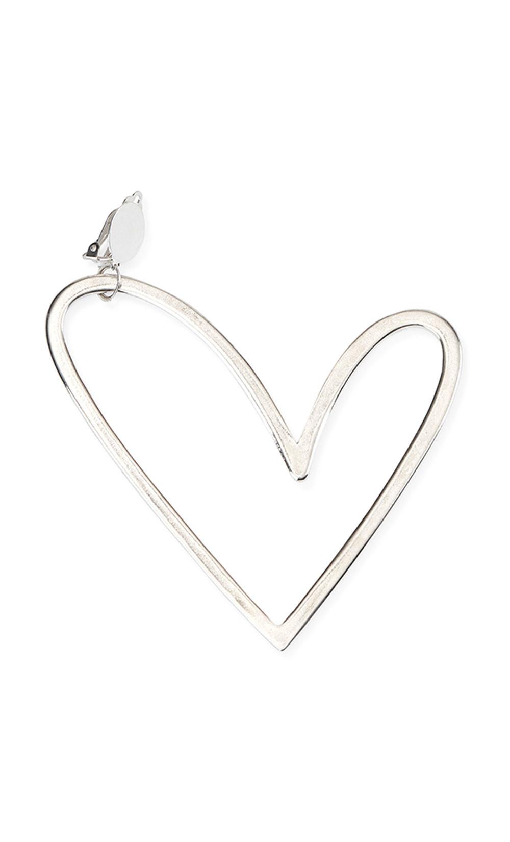 Single Heart Earring