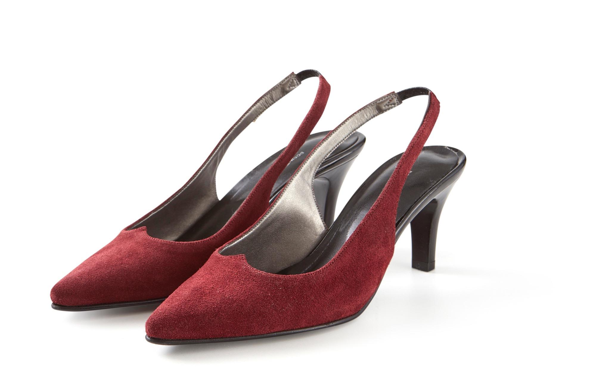 DARK RED LYLA SHOES