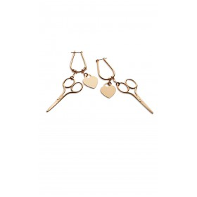 Sewing Scissors Single Earring