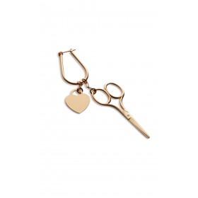 Sewing Scissors Single Earring