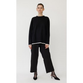 Black Moreno Sweater