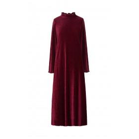 Argola Velvet Dress