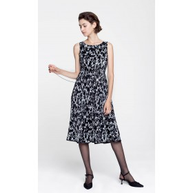 Inka Plisse Dress