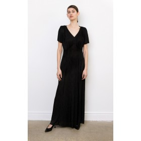 Claudine Plissé Dress