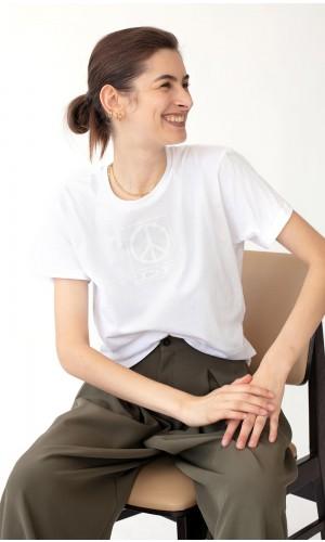 White Peace T-shirt