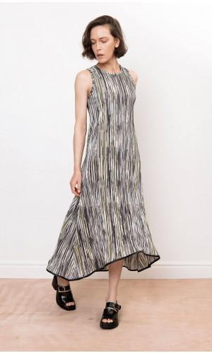 Talma Plissé Dress