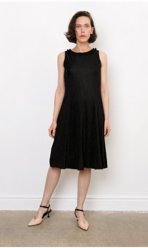 Sincopa Plissé Dress