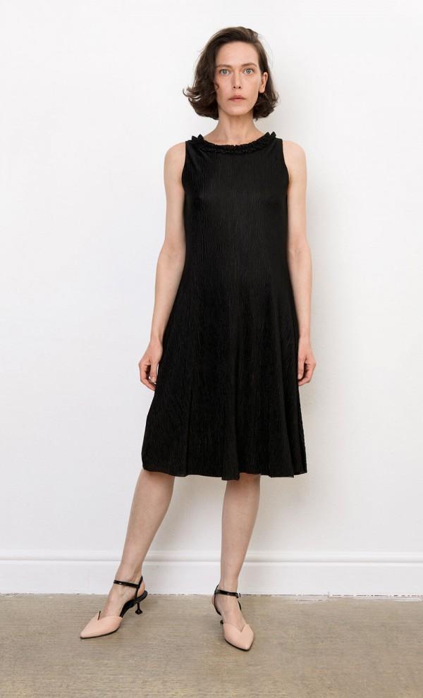 Sincopa Plissé Dress