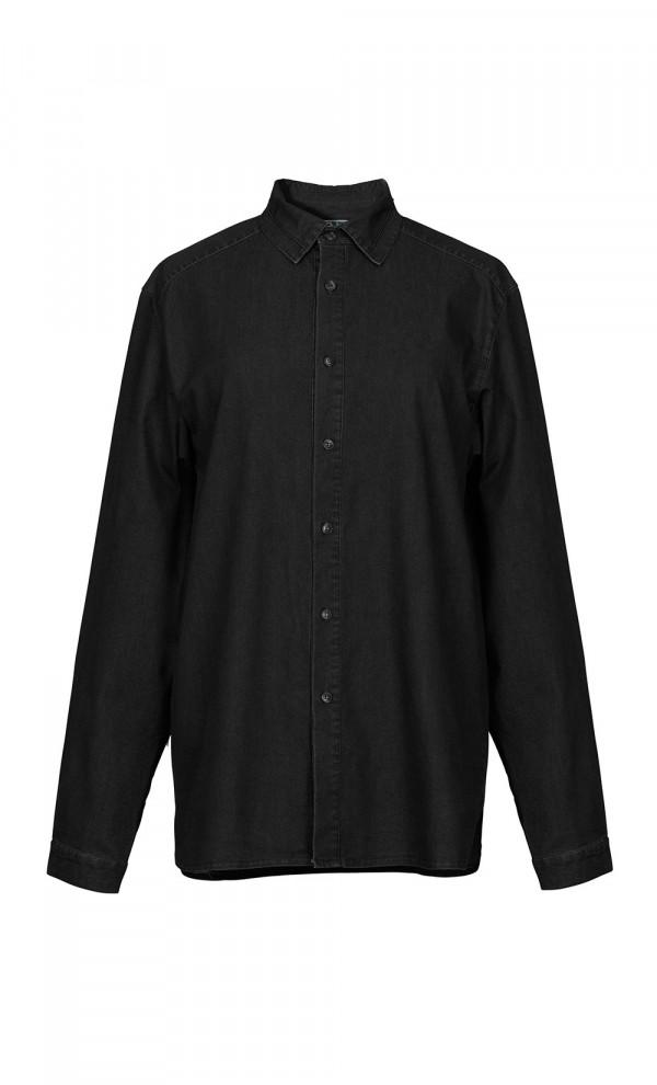 Zoro Black Linen Shirt