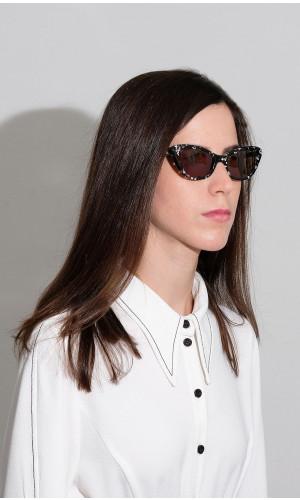 Dorin's Cat-Eye Sunglasses