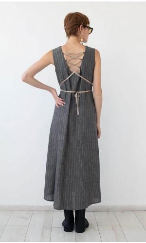 Coryse Linen Dress