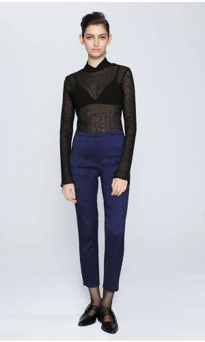 Gloss Brocade Pants