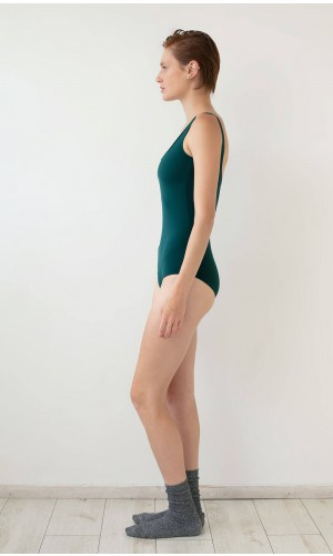 Green Bodysuit / Swimsuit