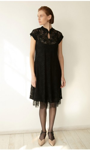 Misofu Black Dress